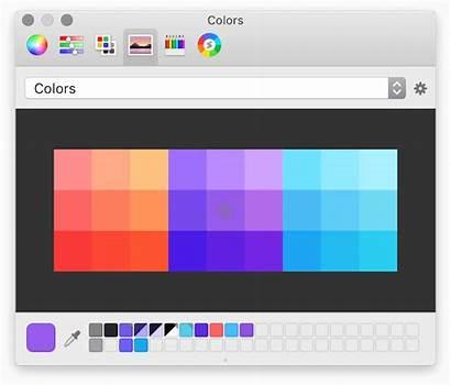 Photoshop Picker Macos Affinity Designer Palettes Advanced