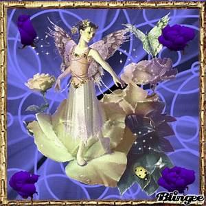 Purple fairy Picture #98047888   Blingee.com