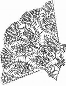 Crochet Doily Symbol Diagram