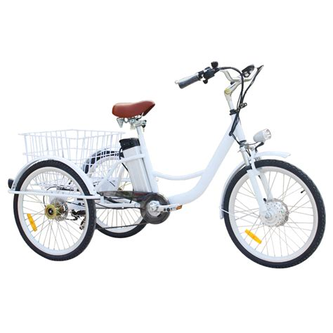 Electric Adult Big Wheel Tricycle