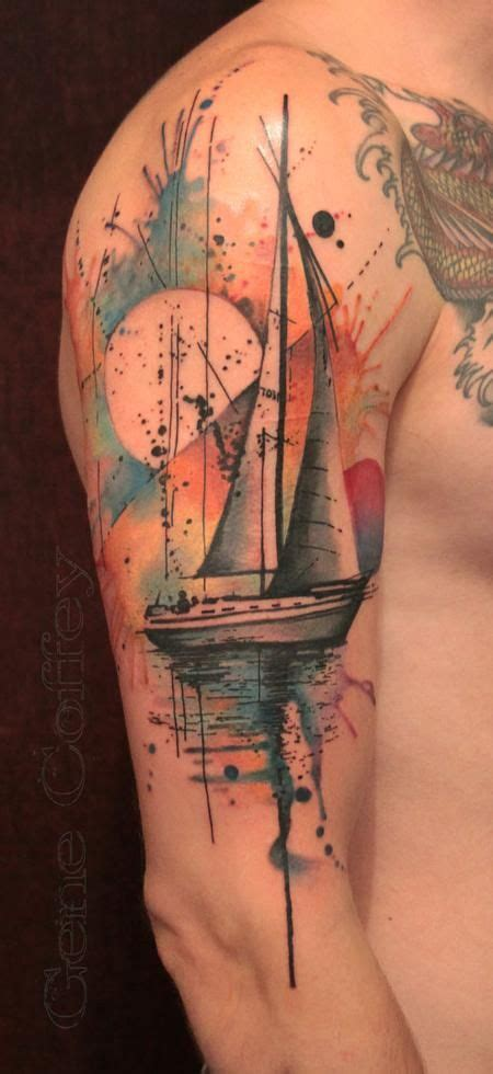 Boat Tattoo by 25 Best Sailboat Tattoos Ideas On Pinterest Sail Tattoo