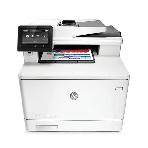 hp laser color printer hp color laserjet pro m377dw a4 colour multifunction laser