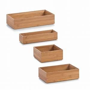 Cd Box Holz : zeller ordnungsbox bamboo aufbewahrungsbox box kiste holz offen stapelbar bambus ebay ~ Whattoseeinmadrid.com Haus und Dekorationen