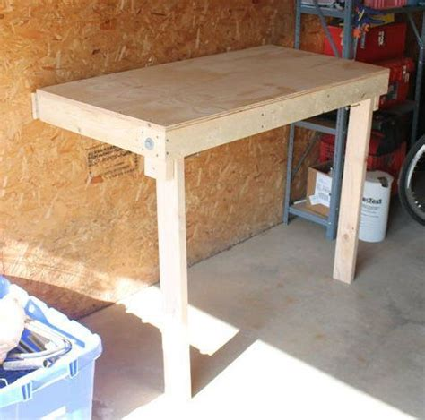 budget friendly folding workbench  folding