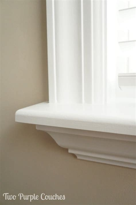 Window Trim With Sill by How To Install Your Own Window Trim