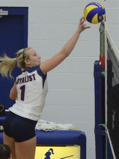 lady lancer breaks volleyball record  home opener