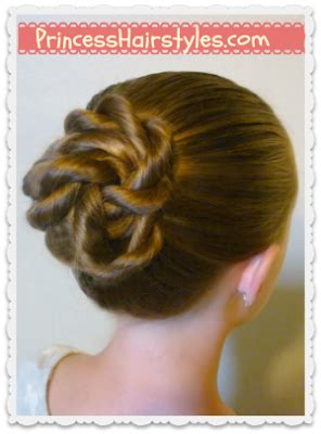 Twisted Knots Hairstyle by And Easy Quot Twisted Knot Quot Bun Back To School