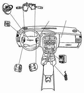 2003 Chrysler Pt Cruiser Switch  Clutch Starter Interlock