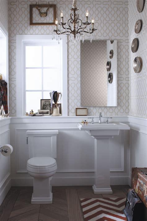 bathroom wallpaper ideas  pinterest