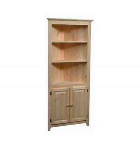 [32 Inch] AFC Corner Cabinet - Simply Woods Furniture