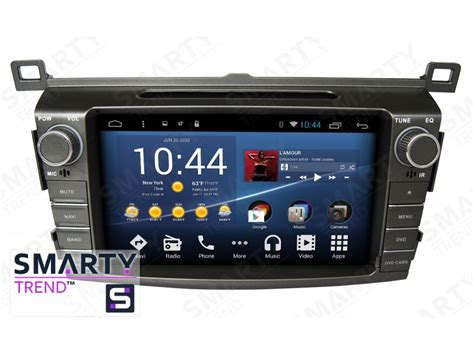 android in dash toyota rav4 2013 2016 android 6 0 marshmallow car stereo