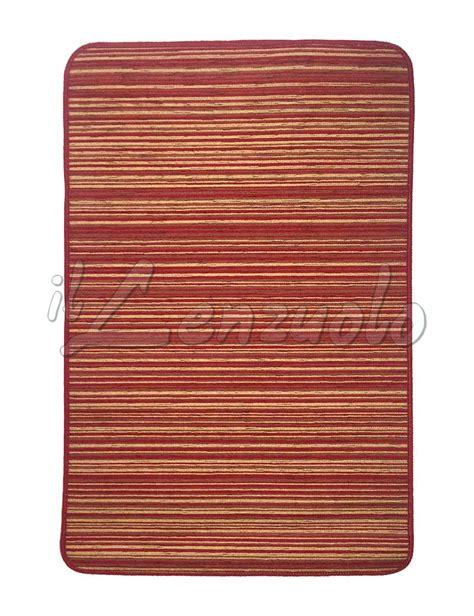 tappeto cucina rosso tappeto per cucina gommato antiscivolo varie misure
