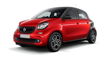 smart forfour car configurator  price list