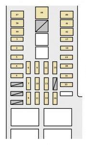 toyota tundra 2003 2004 fuse box diagram auto genius
