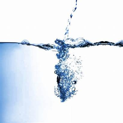 Water Splash Transparent Flowing Aqua Pouring Background