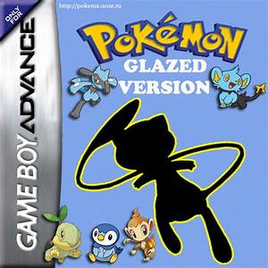 pokemon glazed nintendo game boy advance