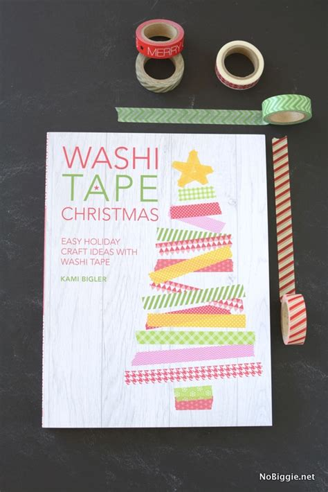washi tape christmas craft washi book review make and takes