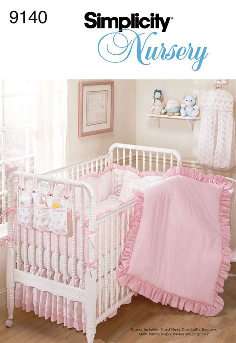 crib sheet pattern crib bedding patterns simplicity woodworking projects