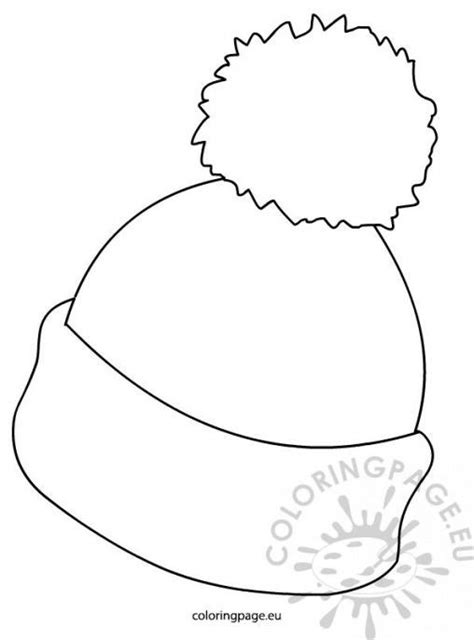 Kleurplaat Winterjas by Colouring Pages Winter Hats New Calendar Template Site