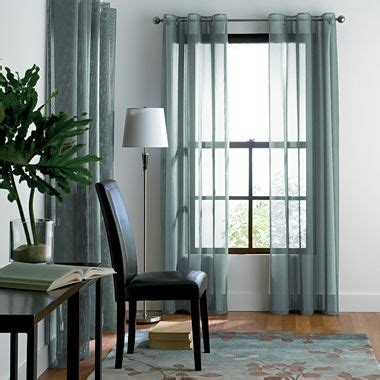 Jcpenney Sheer Grommet Curtains by Solar Home Studio And Mesh On