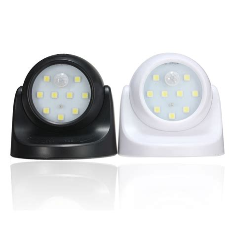 motion activated led light wireless wireless 9 led motion activated light sensor 360 rotation