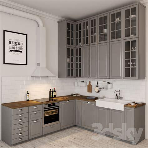 ikea kitchen sink 3d models kitchen ikea bodbyn 1795