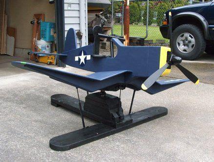airplane rocker  gas springs fu corsair projects