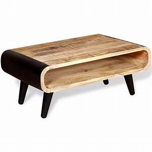 vidaxl coffee table rough mango wood 90x55x39 cm vidaxl With rough wood coffee table