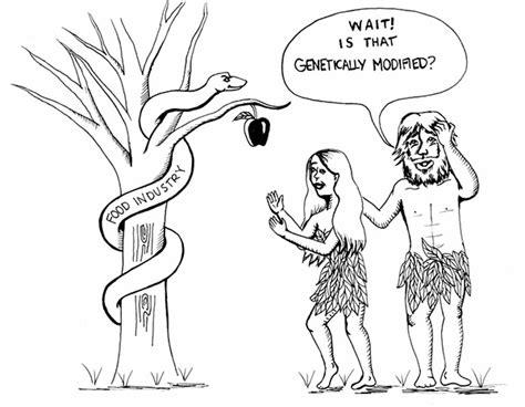 Adam And Eve Organic Apple Humor