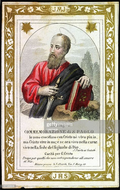 saint paul holy card early  century private