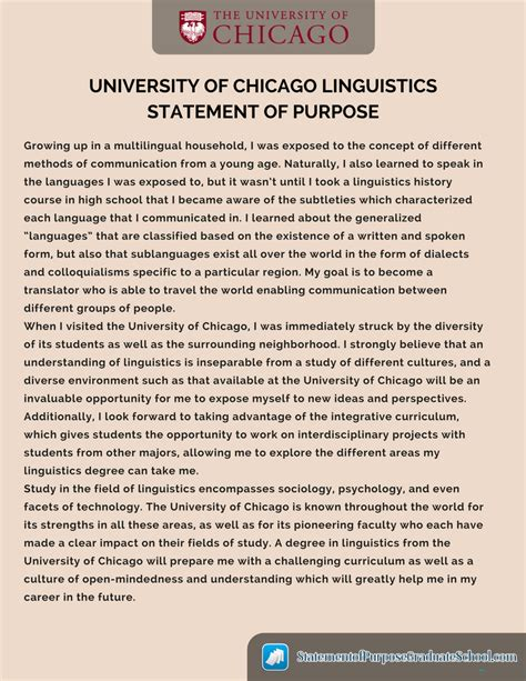 12 statement of purpose format science resume 17