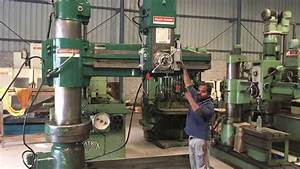 Radial Drilling Machine - Asquith-archdale
