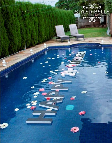 pool decorations outdoor pool decor the party people online magazine