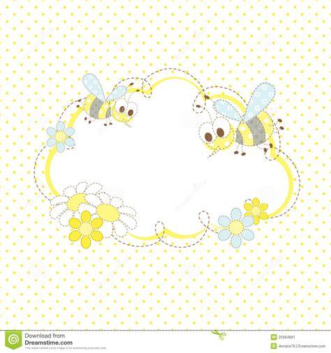 bee frame stock image image