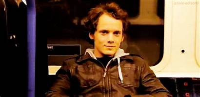 Anton Yelchin Gifs Satisfied Pure