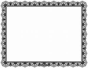 Certificate Border Vector Png - ClipArt Best