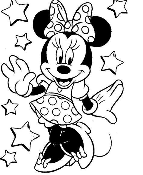 Kleurplaat Minnie Mouse Baby kleurplaten baby mini mouse