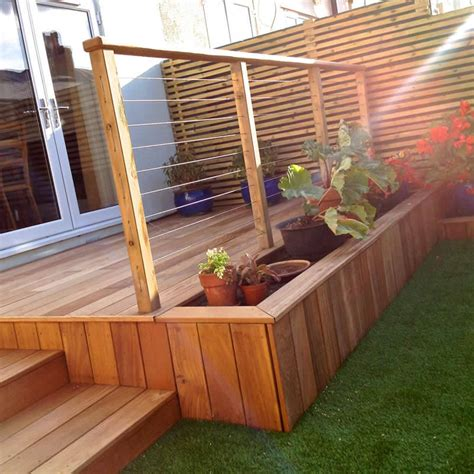 yellow balau deckboards smooth smooth hardwood decking
