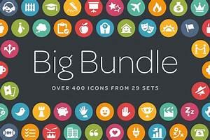 Circle Icons Bundle ~ Icons ~ Creative Market