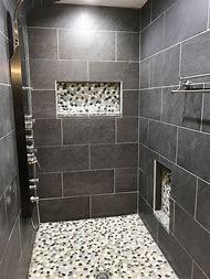 Stone Bathroom Shower Tile Ideas