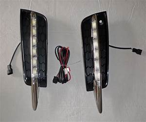 2014 Chevy Cruze Lights 2010 2015 Chevy Cruze Led Long Chrome Fog Daytime Running