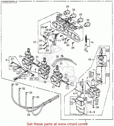 honda cbk   usa carburetor buy carburetor