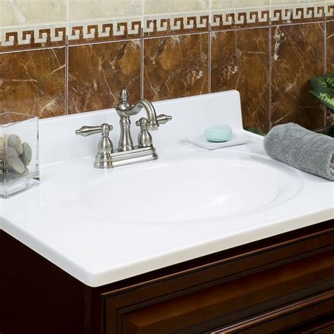 laminate underlayment cultured marble vanity top with seamless backsplash for 36