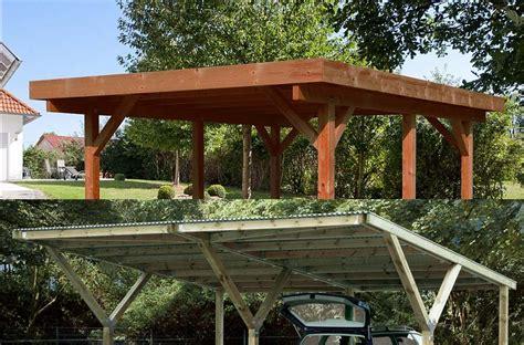 Das Carport Dach  Dachratgeber Für Carports