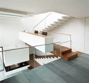 fuchs treppe terrassenhaus am hang moderne einfamilienhäuser