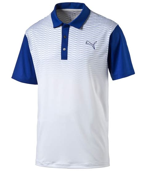 color block polo shirt golf mens colorblock fade polo shirt golfonline