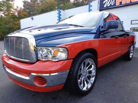 2005 Dodge Ram 1500 Rims by Buy Used 2005 Dodge Ram 1500 Crew Cab Slt 22 Quot Rims
