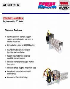 10 Kw Heat Strip For Heil Air Handlers Fcv  Fcp  Fcx  Ef Wfc1002