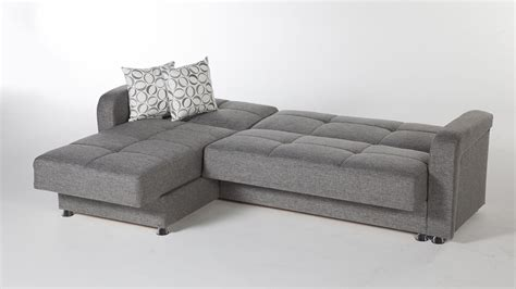 vision diego gray sectional sofa  istikbal sunset