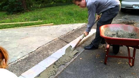fix  dip    driveway youtube